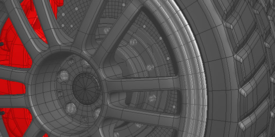 3D - Car Tyre [WiP]