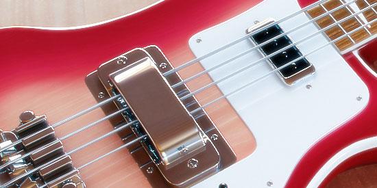 3D Rickenbacker Bass Guitar 1