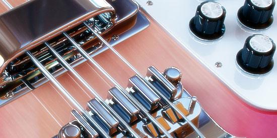 3D Rickenbacker Bass Guitar 2