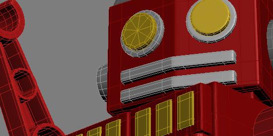 3D - Toy Robot 1 [WiP]