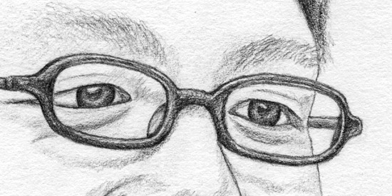 Pencil - Portrait of Johan